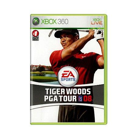 Jogo Tiger Woods PGA Tour 08 - Xbox 360