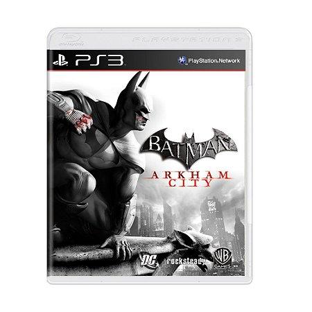 Jogo Batman: Arkham City (Edição Especial) - PS3