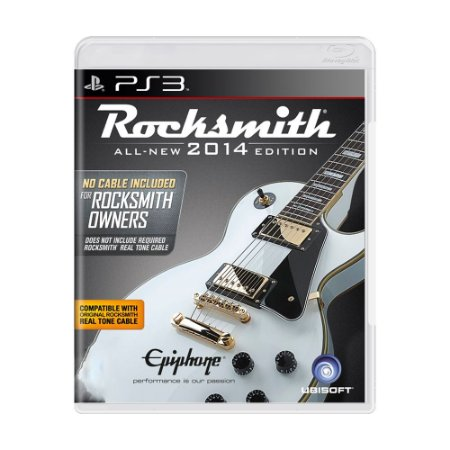 Jogo Rocksmith 2014 Edition - PS3