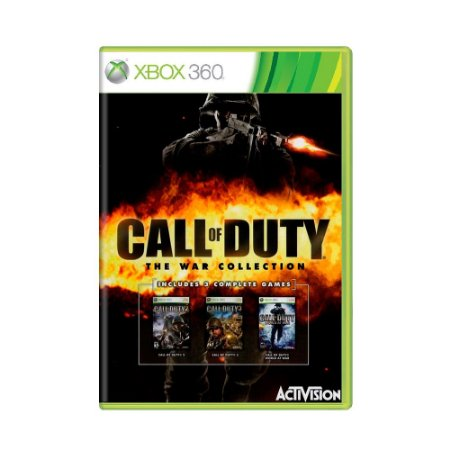 Jogo Call Of Duty: The War Collection - Xbox 360