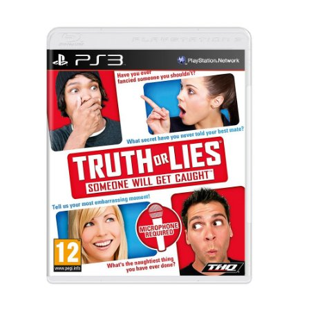 Jogo Truth Or Lies - PS3 [Europeu]
