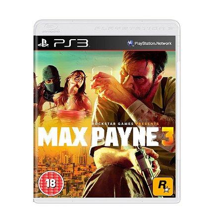 Jogo Max Payne 3 - PS3 [Europeu]