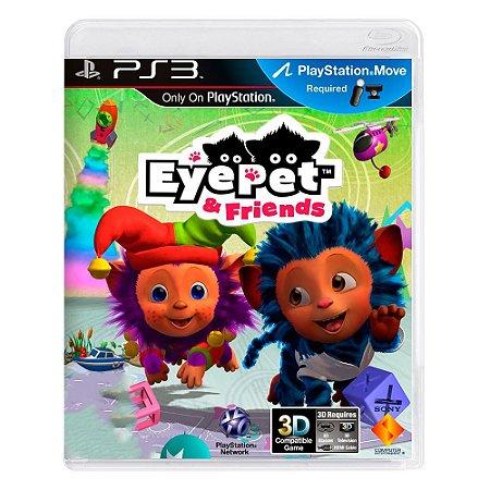 Jogo Eye Pet & Friends - PS3