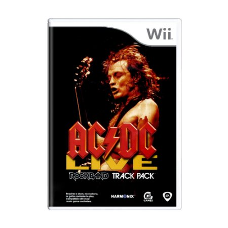 Jogo AC/DC Live: Rock Band - Wii