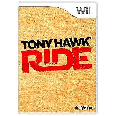Jogo Tony Hawk: Ride - Wii
