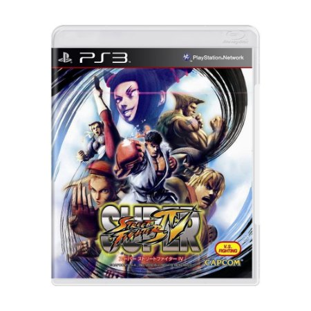 Jogo Super Street Fighter IV - PS3