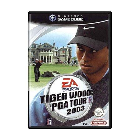 Jogo Tiger Woods PGA Tour 2003 - GC