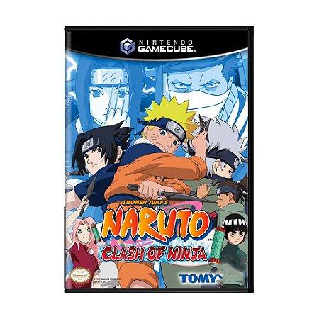 Jogo Naruto: Clash of Ninja - GC - GameCube