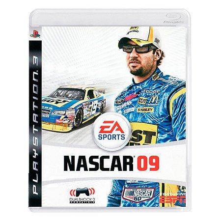Jogo NASCAR 09 - PS3