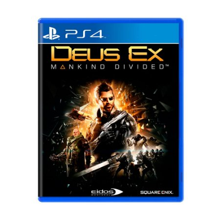 Jogo Deus Ex: Mankind Divided - PS4