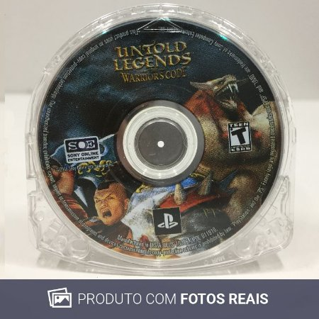 Jogo Untold Legends: The Warrior's Code - PSP