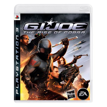 Jogo G.I. Joe: The Rise of Cobra - PS3