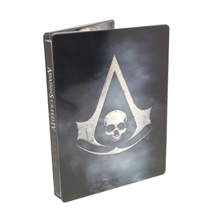 Jogo Assassin's Creed IV: Black Flag (SteelCase) - Xbox 360