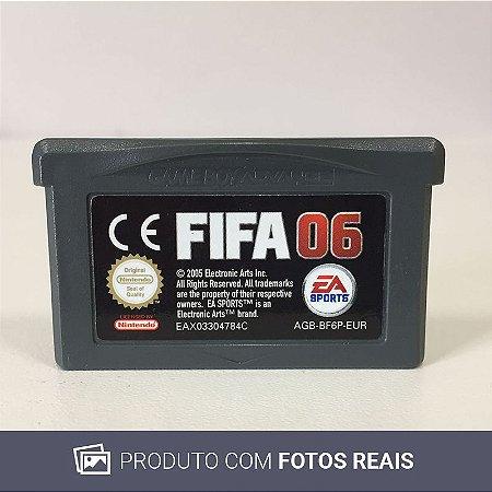 Jogo FIFA 06 - GBA [Europeu]