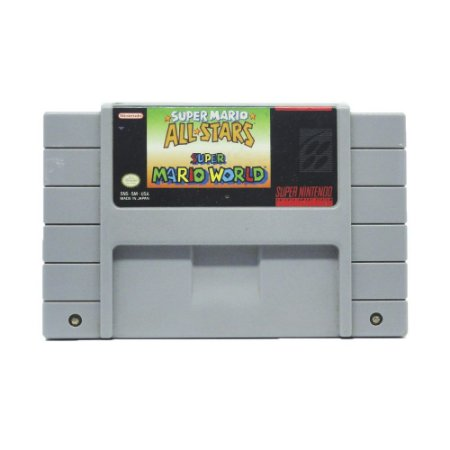 Jogo Super Mario All Stars + Super Mario World - SNES
