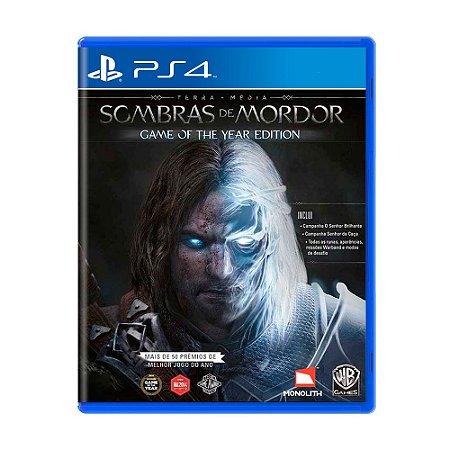 Jogo Terra Média: Sombras de Mordor (Game of the Year Edition) - PS4