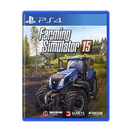 Jogo Farming Simulator 15 - PS4