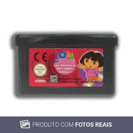 Jogo Dora the Explorer: Super Star Adventures - GBA Game Boy Advance