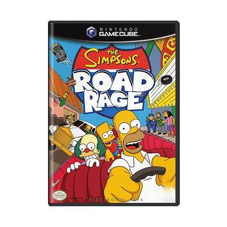 Jogo The Simpsons Road Rage - GC