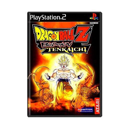 Jogo Dragon Ball Z: Budokai Tenkaichi - PS2