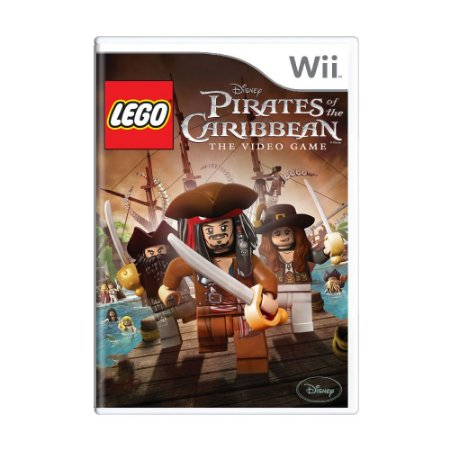 Jogo LEGO Pirates of the Caribbean: The Video Game - Wii