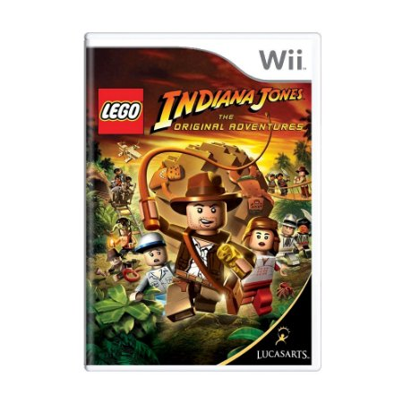 Jogo LEGO Indiana Jones: The Original Adventures - Wii