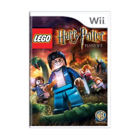 Jogo LEGO Harry Potter: Years 5-7 - Wii