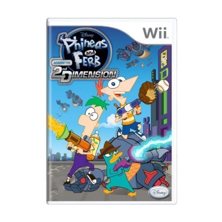 Jogo Phineas and Ferb: Across the 2nd Dimension - Wii