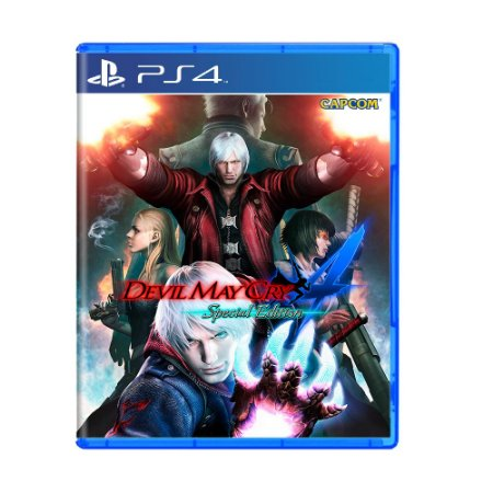 Jogo Devil May Cry 4: Special Edition - PS4