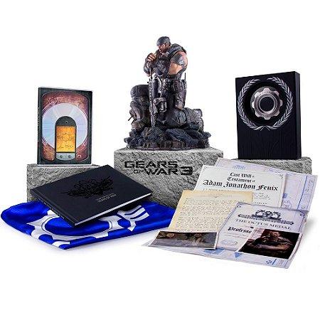 Gears of War 3 - Epic Edition - Edição Especial de Colecionador - Xbox 360