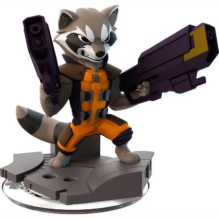 Boneco Disney infinity: Rocket Raccoon