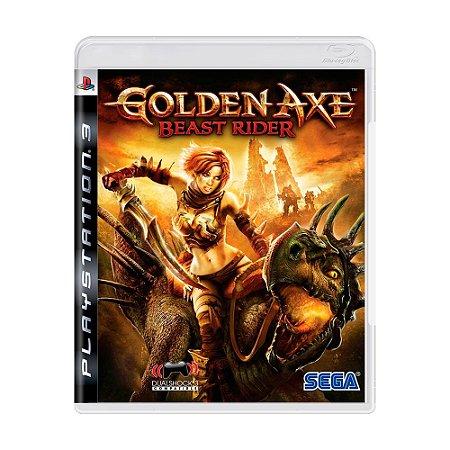 Jogo Golden Axe: Beast Rider - PS3