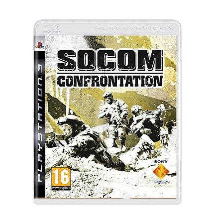 Jogo Socom Confrontation - PS3