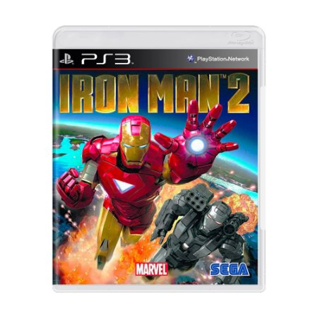 Jogo Iron Man 2: The Video Game - PS3