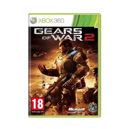 Jogo Gears of War 2 - Xbox 360 (Europeu)