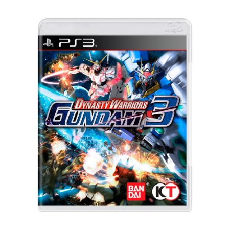 Jogo Dynasty Warriors: Gundam 3 - PS3