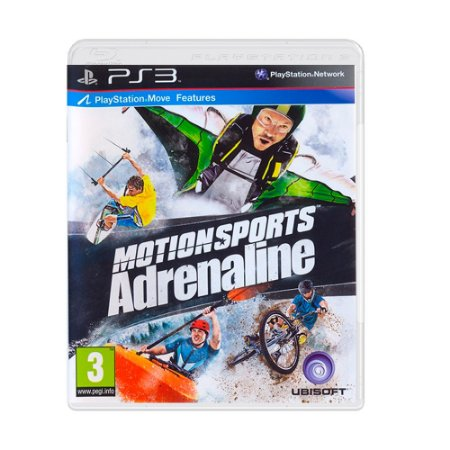 Jogo Motionsports Adrenaline - PS3 [Europeu]