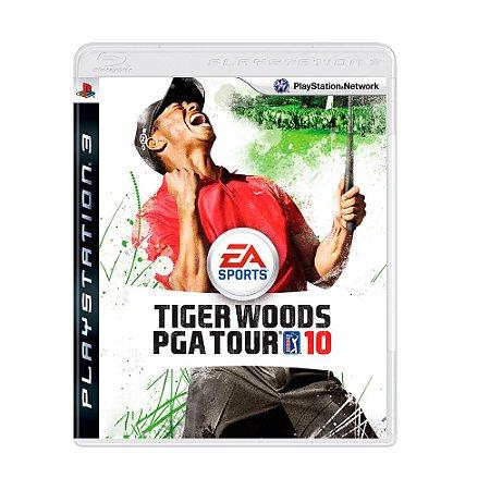 Jogo Tiger Woods PGA Tour 10 - PS3
