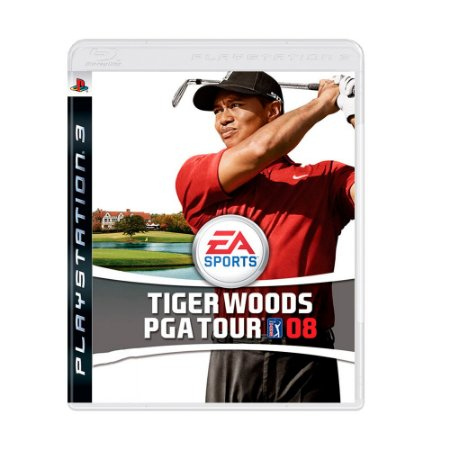 Jogo Tiger Woods PGA Tour 08 - PS3