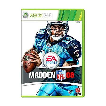 Jogo Madden NFL 08 - Xbox 360