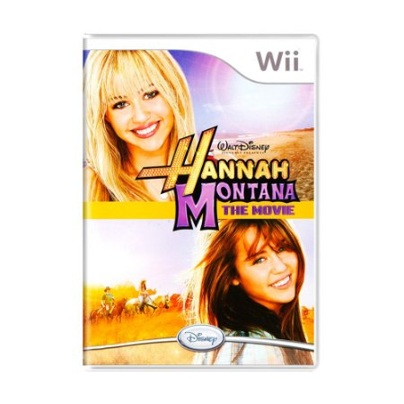 Jogo Hannah Montana: The Movie - Wii
