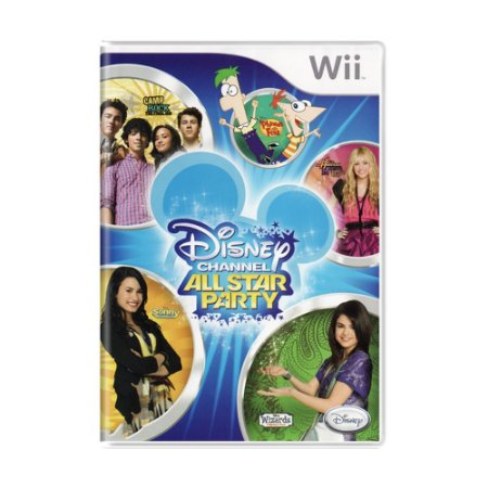 Jogo Disney Channel: All Star Party - Wii