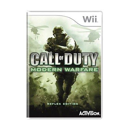 Jogo Call of Duty: Modern Warfare (Reflex Edition) - Wii