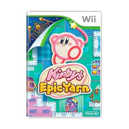 Jogo Kirby's Epic Yarn - Wii