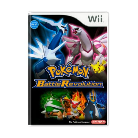 Jogo Pokémon: Battle Revolution - Wii