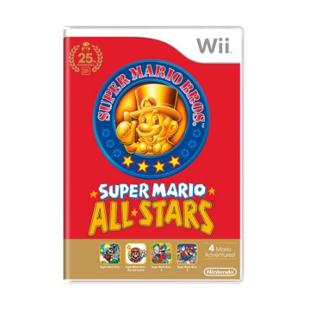 Jogo Super Mario All Stars - Wii