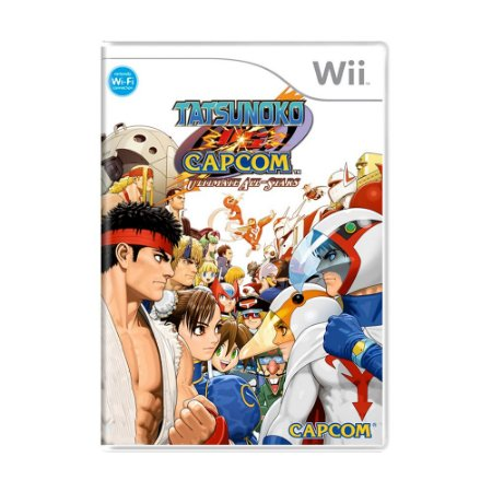 Jogo Tatsunoko Vs Capcom: Ultimate All-Stars - Wii