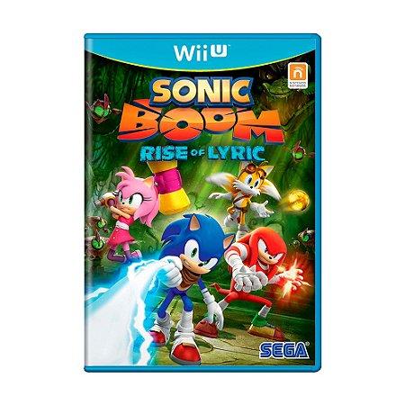 Jogo Sonic Boom: Rise of the Lyric - Wii U