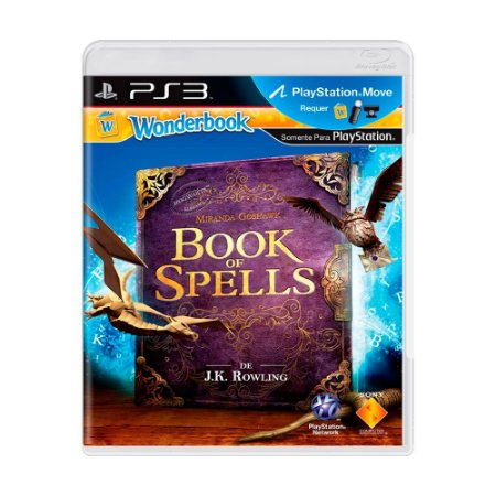 Jogo Wonderbook: Book of Spells - PS3