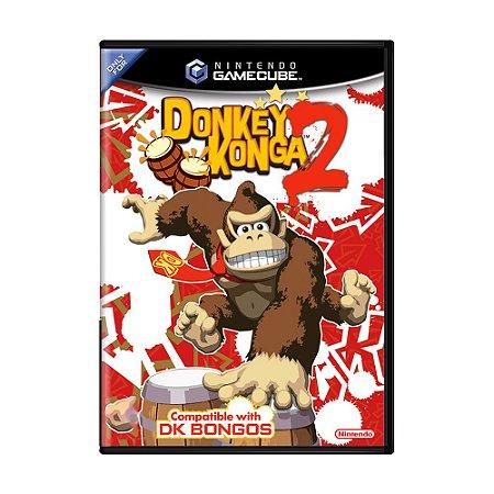Jogo Donkey Konga 2 - GC - GameCube
